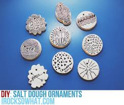 sharpie decorated salt dough ornaments easy and fun project for this holiday gift s