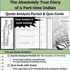 The Absolutely True Diary Of A Parttime Indian Quote Analysis Fascinating The Absolutely True Diary Of A Part Time Indian Quotes