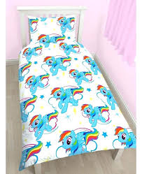 my little pony comforter set my little pony rainbow dash single duvet cover and pillowcase set twin bedding bandana pony bedding set my little