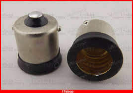 compare prices on ba15s bulb holder online shopping buy low price 10pcsx ba15s to us e12 candelabra base socket led light bulb lamp adapter converter
