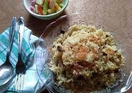 Nasi mandi juga didominasi dengan rasa rempah yang kuat, dan menggunakan beras basmati yang berbentuk lebih panjang dan pipih. Resep Nasi Kebuli Kw Oleh Avit Cookpad