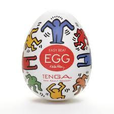 Яйцо <b>мастурбатор TENGA&Keith Haring</b> Egg Dance недорого