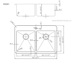 kitchen sink dimensions. Kitchen Sink Measurements Houseoutlinepw Standard Size Dimensions G