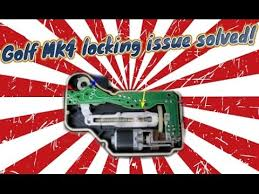 golf mk4 locking issue solved golf mk4 locking issue solved