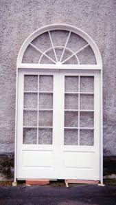 Wood Custom French Doors  Jim Illingworth Millwork LLC - Exterior transom window