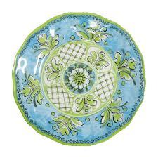 Patterned Dinnerware Simple Benidorm Blue Patterned Dinnerware