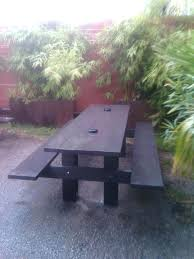 patio furniture round rock tx or modern picnic table for porch patio or grass these tables