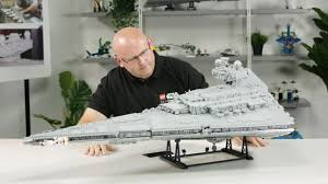 Lego Star Wars Designer Videos Imperial Star Destroyer Designer Video Lego Star Wars 75252