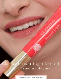 Instant Light Brush On Perfector Clarins Review Clarins Instant Light Natural Lip Perfector Review Natural