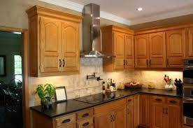 Dark Kitchen Cabinets With Light Granite Fascinating Granite With Oak What Color Light Or Dark Kitchens Forum