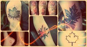 значение тату кленовый лист фото и эскизы татуировки