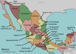 northern states names. image gallery of map states mexico 5 maps click on or state names for interactive northern -