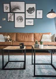 Industriele Inrichting Woonkamer Huis Decor