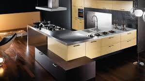 A Clean Modern Kitchen Interior Design Concept Stock Photo Modern Kitchen Interior