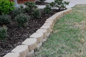 stone garden edging bunnings designs