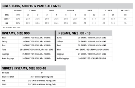 jean size converter girls jeans sizing chart dolap magnetband co