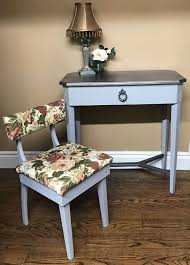 ay pany side table makeover with vintage sewing chair scheme of furniture makeover ideas