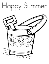 Small Picture Happy Summer Coloring Pages Printable For Preschoolers Season