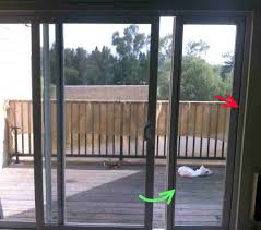 backyards installing sliding glass dog door on concrete lock in brick wall patio cost of