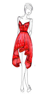 The 25 Best Dress Design Sketches Ideas On Pinterest Fashion