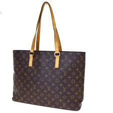 authentic louis vuitton luco shoulder bag monogram leather brown m51155 30er716