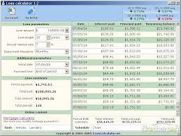 Free Loan Payment Calculator Download Loan Calculator My Mortgage Home Loan