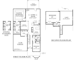 1 1 2 story house plans. House Plan 2545 ENGLEWOOD Floor - Traditional 1-1/2-story 1 2 Story Plans Pinterest
