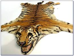 real tiger rug modifier
