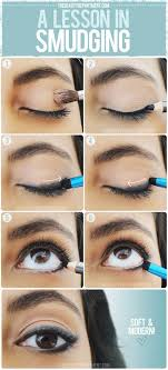 eyeliner hacks smudged eyeliner no eyeliner makeup how to