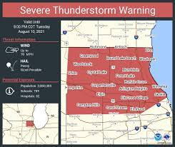 storms approach: widespread wind damage ...