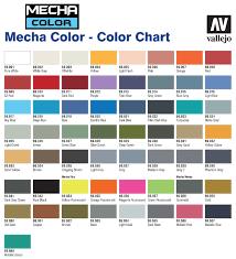 Vallejo Mecha Color Paint