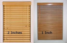 1 inch faux wood blinds