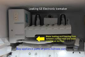refrigerator repair com samurai appliance repair man leaking ge icemaker