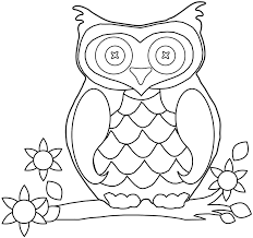 Owl Coloring Pages To Print Outl