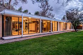 Architecture houses glass Concrete Architect Dean Gustavson Designed The Home In 1957 For Him And His Family Curbed Midcentury Home Architects Own Glassbox Gem Asks 825k Curbed