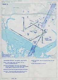 1951 Idlewild Airport Approach Plate Chart