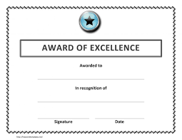 Microsoft Award Templates Certificate Templates 7 Best Images Of Microsoft Word Sample