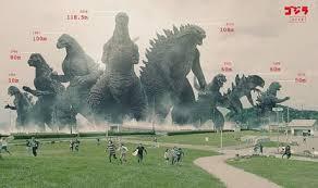 Godzilla Size Chart Godzilla Size Chart 9gag