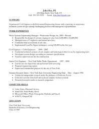 Construction Field Engineer Resume Sample Resume First Line