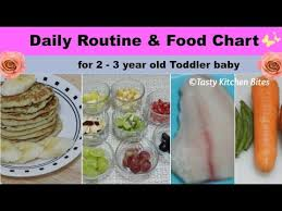 Two Years Baby Food Chart Food Chart Daily Routine For 2 3 Year Old Toddler Baby L Complete Diet Plan Baby Food Recipes