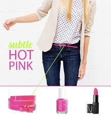 How to Wear It: Hot Pink