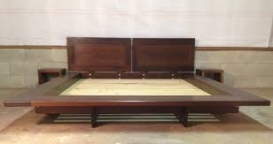 Platform bed with floating nightstands Diy Incredible Platform Bed With Floating Nightstands Floating Platform Bed Contemporary Platform Beds Charleston Juanmorenoco Incredible Platform Bed With Floating Nightstands Hemling Interiors