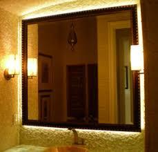 home led lighting strips. LED Bathroom Mirror Installation Home Led Lighting Strips