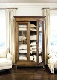 mind boggling glass door armoire jewelry armoire white solid wood rustic glass door large storage