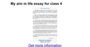 aim in my life essay my aim in life become a doctor engineer teacher essay