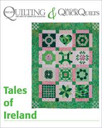 Irish Quilts: Tales of Ireland Quilt & Quilt Block Patterns - The ... & Free Irish Quilt Patterns to Download - Don't Miss Out, Grab Them All Adamdwight.com
