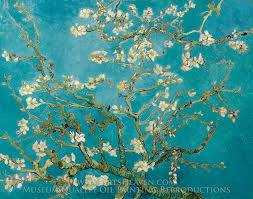 vincent van gogh blossoming almond tree oil painting reion