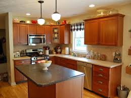 For Painting Kitchen Walls Best Wall Color For Kitchen With Dark Cherry Cabinets House Decor