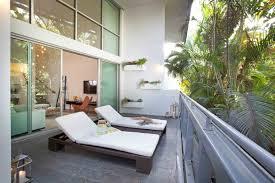 balcony design furniture. Modern Balconies Interior Design Ideas. Sunbeds In The Eco Designed Loggia Balcony Furniture L
