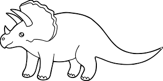 Small Picture Triceratops Coloring Page Wecoloringpage